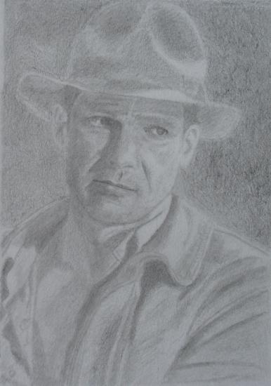 Harrison Ford by Steven